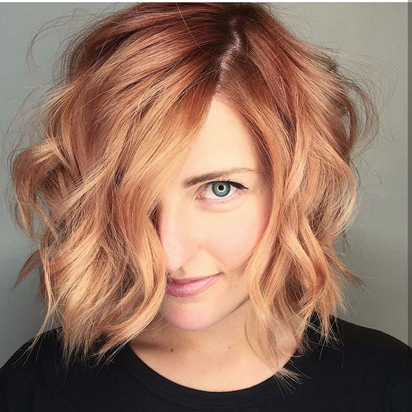 Wavy-Hair-3 Beautiful Short Hair for Girls
