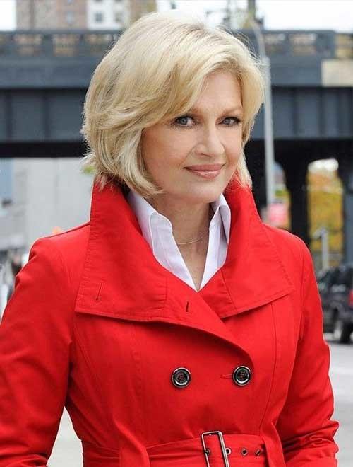 12.Short-Hair-Women-Over-50 Best Short Hair For Women Over 50