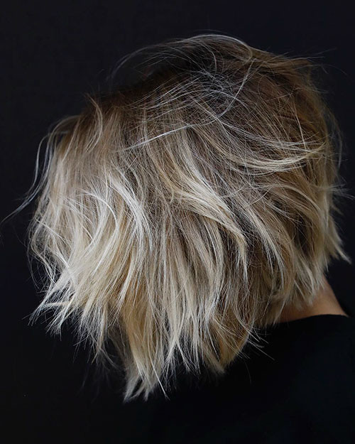 16-ombre-short-hair-brown-to-blonde Beautiful Brown to Blonde Ombre Short Hair
