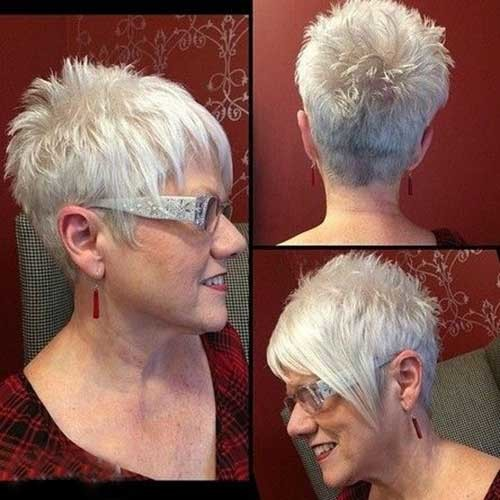 17.Short-Hair-Women-Over-50 Best Short Hair For Women Over 50