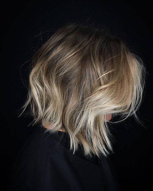 22-ombre-brown-to-blonde-short-hair Beautiful Brown to Blonde Ombre Short Hair