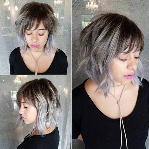 23-short-layered-curly-hair-with-bangs Best Short Layered Bob With Bangs