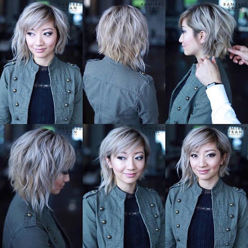 29-short-layered-bob-with-bangs Best Short Layered Bob With Bangs