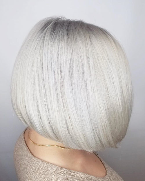 30-white-blonde-bob Famous Blonde Bob Hair Ideas in 2019