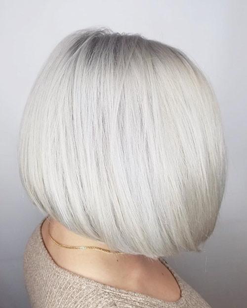 30-white-blonde-bob Famous Blonde Bob Hair Ideas in 2019