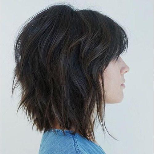 34-short-layered-bob-haircuts-with-bangs Best Short Layered Bob With Bangs