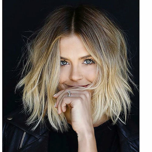 35-brown-to-blonde-ombre-short-hair Beautiful Brown to Blonde Ombre Short Hair