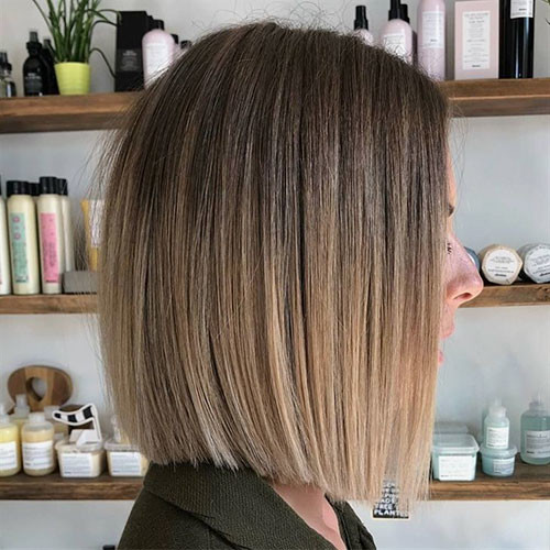 36-ombre-brown-to-blonde-short-hair Beautiful Brown to Blonde Ombre Short Hair