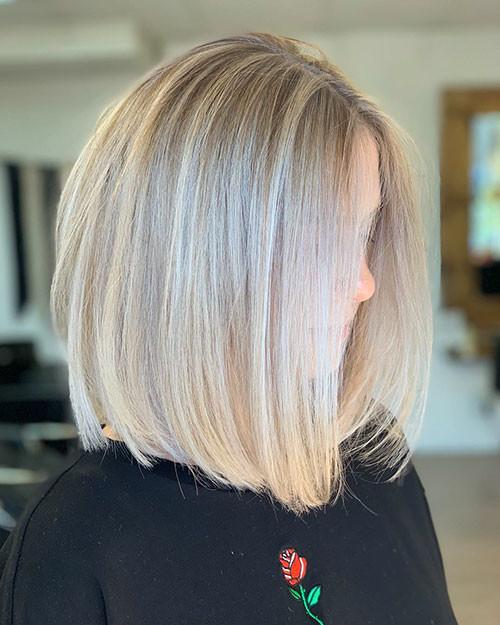 37-blonde-highlights-bob Famous Blonde Bob Hair Ideas in 2019