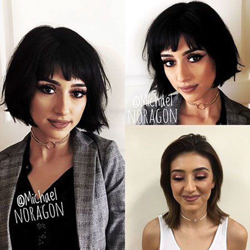 37-short-layered-cuts-with-bangs Best Short Layered Bob With Bangs