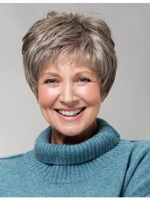 40-pixie-hair-cut-for-older-women Beautiful Pixie Cuts for Older Women 2019
