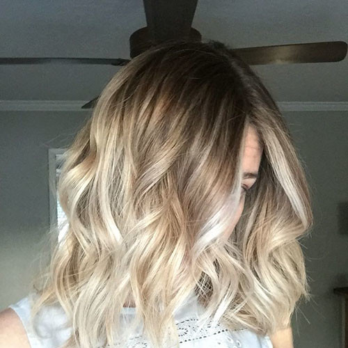 41-blonde-and-brown-short-hairstyles Beautiful Brown to Blonde Ombre Short Hair