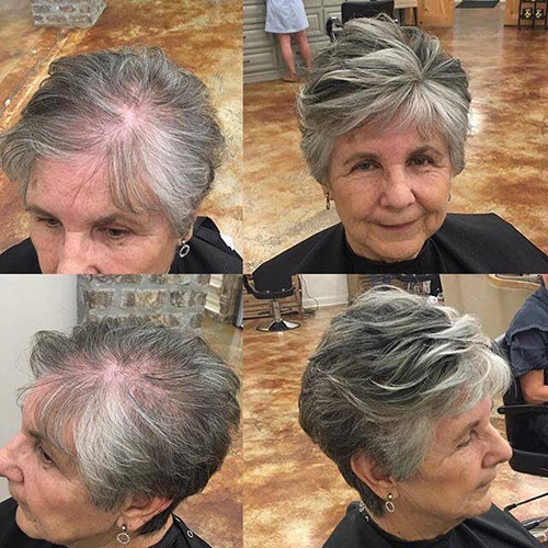 Beautiful Pixie Cuts For Older Women 2019