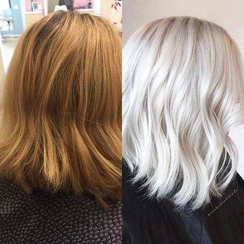 44-platinum-blonde-bob Famous Blonde Bob Hair Ideas in 2019
