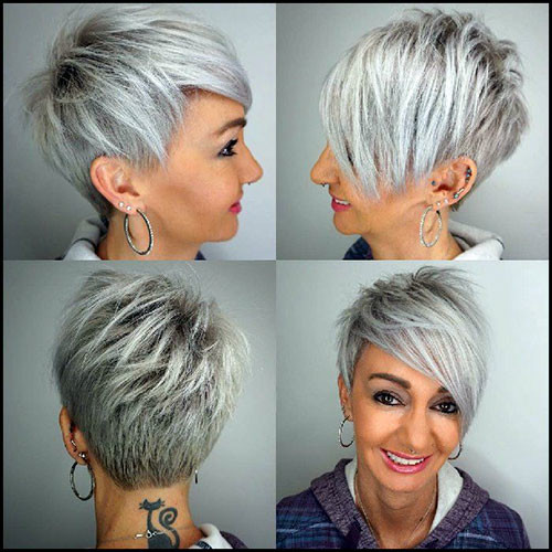 45-pixie-haircuts-for-older-women Beautiful Pixie Cuts for Older Women 2019