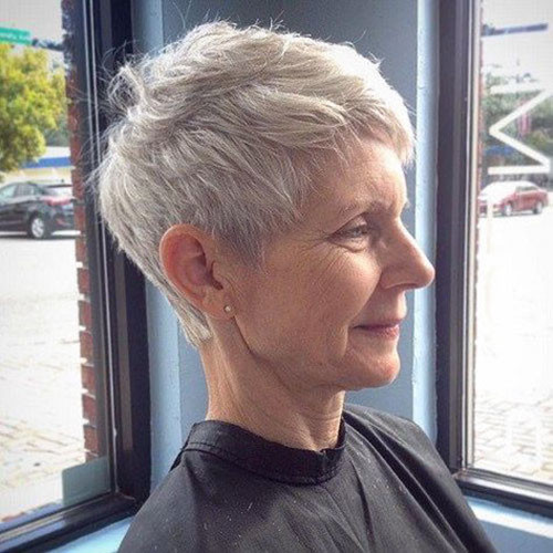 50-short-pixie-cuts-for-older-women Beautiful Pixie Cuts for Older Women 2019