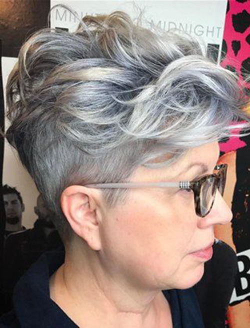 52-pixie-cuts-for-older-women Beautiful Pixie Cuts for Older Women 2019