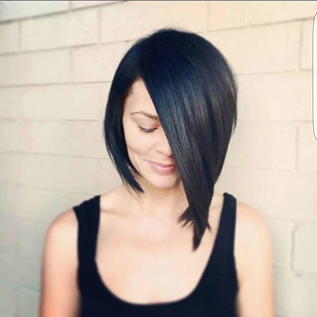 Asymmetrical-Bob New Bob Hairstyles 2019