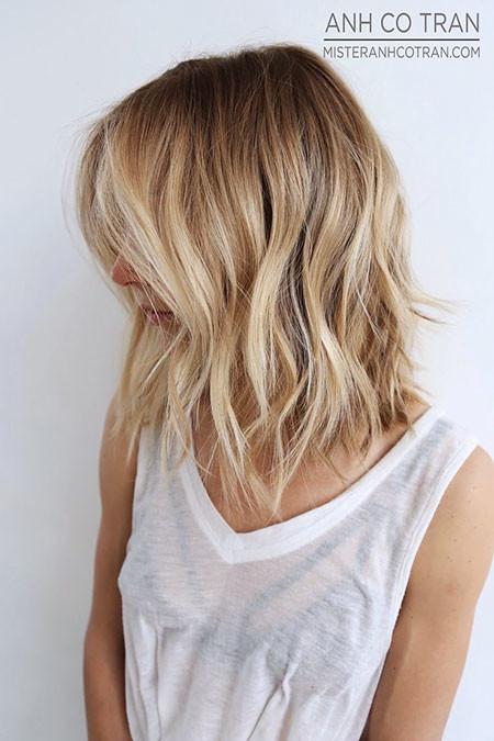 Beautiful-Look Popular Short Blonde Hair 2019