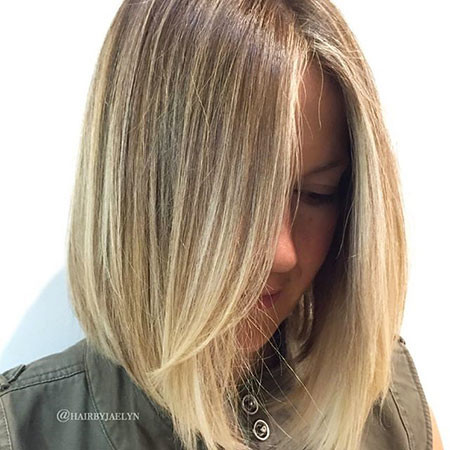 Blonde-Highlights New Bob Hairstyles 2019