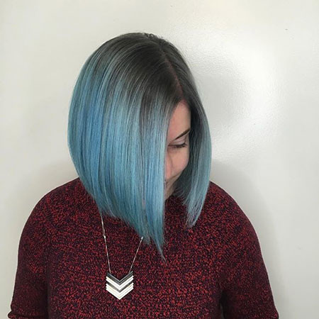 Blue-2019 New Bob Hairstyles 2019