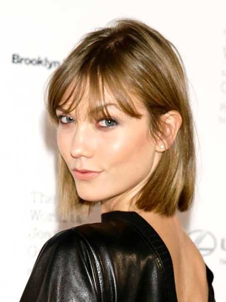 Bob-Haircut-with-Bangs-1 Beautiful Short Celebrity Hairstyles