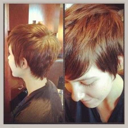 Bouncy-Chic-Pixie-Haircut-with-Messy-Top Short Pixie Cuts for Women