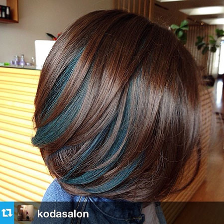 Brown-Color New Bob Hairstyles 2019