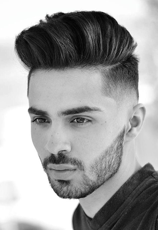 Brushed-Up-Quiff Stylish Undercut Hairstyle Variations in 2019: A Complete Guide