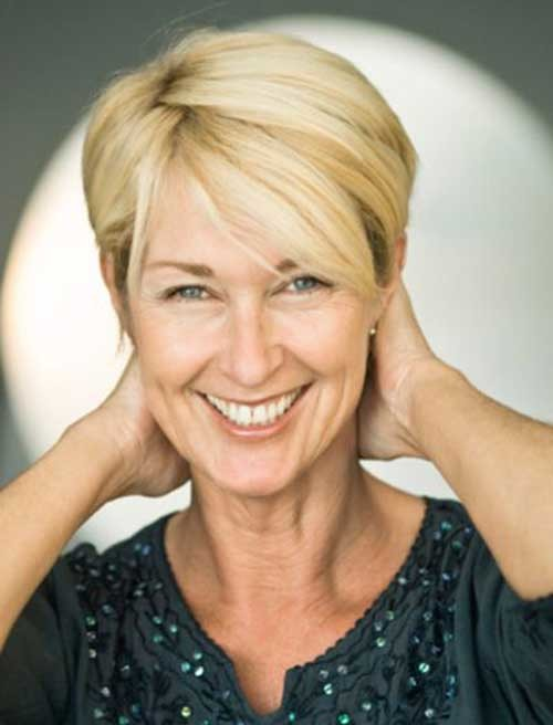 Chic-Short-Hair-Style-Women-Over-50 Short Haircuts For Over 50