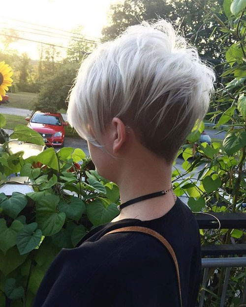 Choppy-Layered-Pixie Haircut Styles for Short Hair