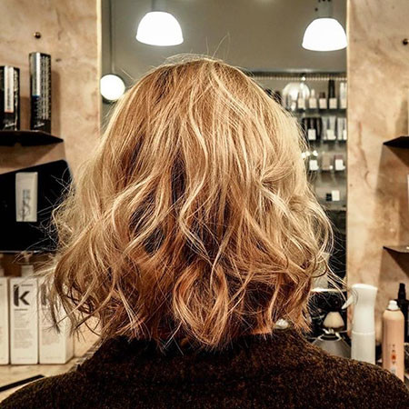 Curly-Messy-Hair New Bob Hairstyles 2019