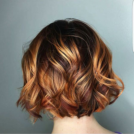 Curly New Bob Hairstyles 2019