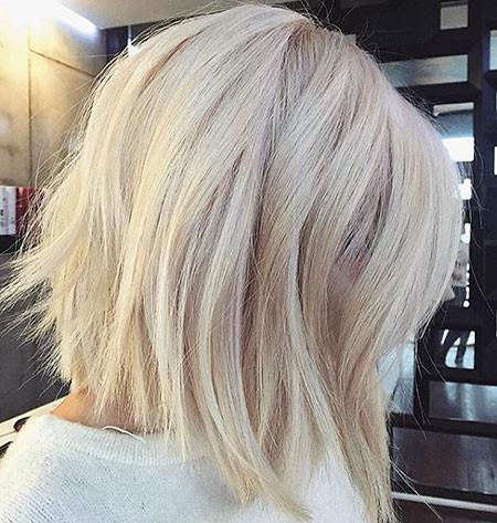 Cute-Bob-1 Popular Short Blonde Hair 2019