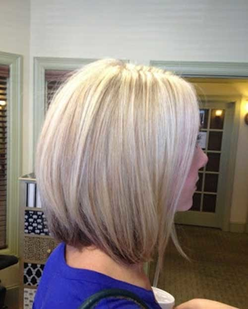 Cute-Light-Blonde-Short-Medium-Haircut Cute Medium Short Haircuts