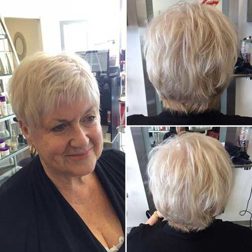 Cute-Pixie Short Haircuts for Older Women 2019