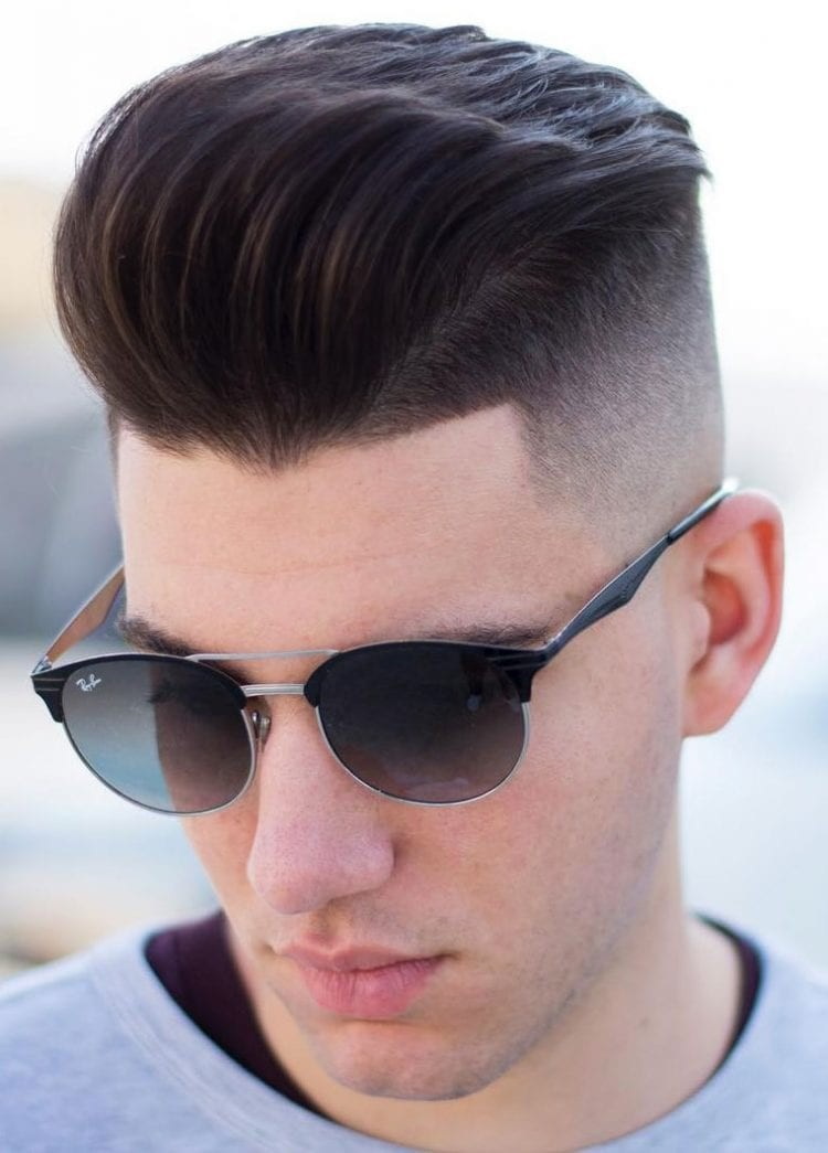 Disconnected-Undercut-with-Quiff-on-Top Stylish Undercut Hairstyle Variations in 2019: A Complete Guide