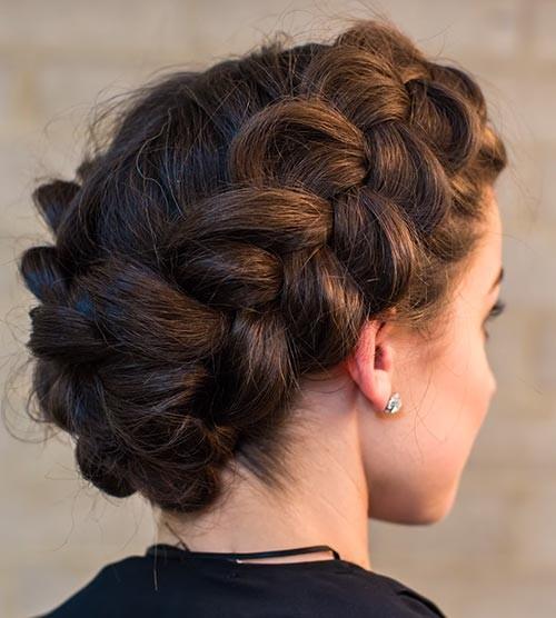 Double-Dutch-Crown-Braid Beautiful Crown Braid Hairstyles