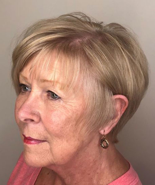 Fine-Short-Hairstyle Latest Short Haircuts for Women 2019