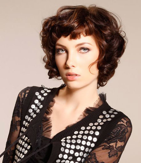 Gorgeous-Short-Cut New Short Curly Haircuts