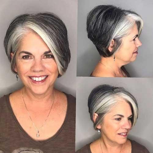 Gorgeous-Short-Hair-Older-Women Short Haircuts for Older Women 2019
