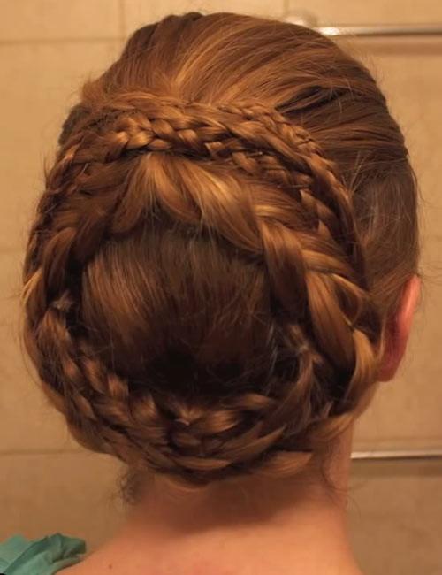Greek-Crown-Braid Beautiful Crown Braid Hairstyles