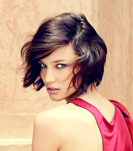 Hot-Short-Brown-Hair Best Hot Short Haircuts