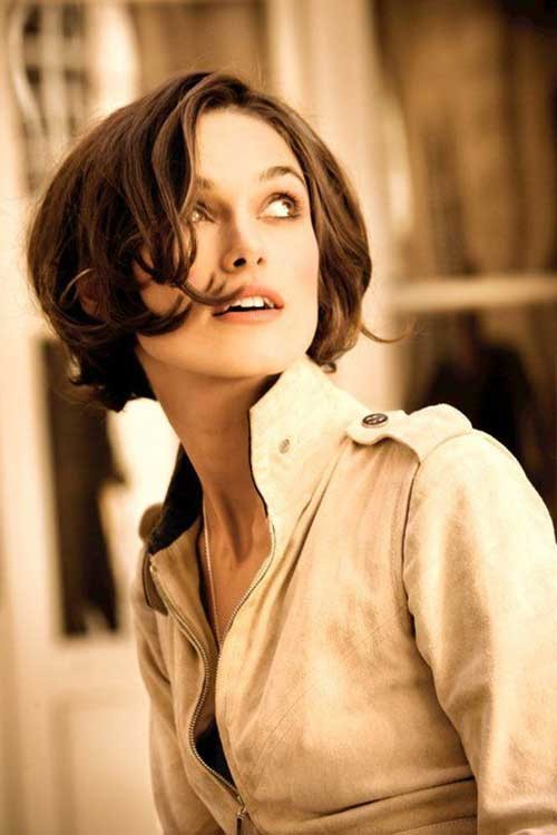 Keira-Knightley Really Adorable French Style Short Haircuts