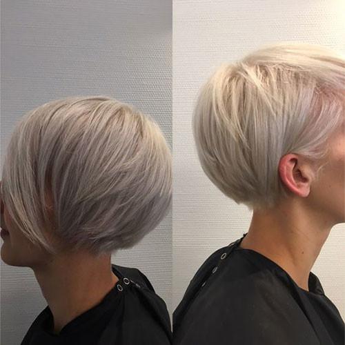 Layered-Blonde-Short-Hair Haircut Styles for Short Hair