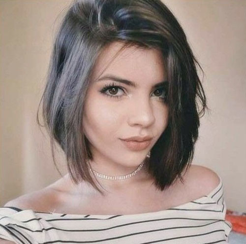 Layered-Longer-Bob Latest Short Haircuts for Women 2019