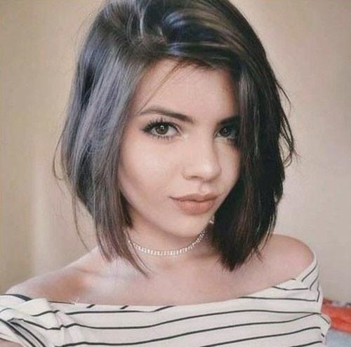 Layered-Longer-Bob Latest Short Haircuts for Women 2019
