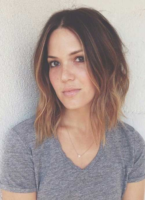 Long-Inverted-Bob-with-Ombre-Hair Beautiful Ombre Bob Hairstyles