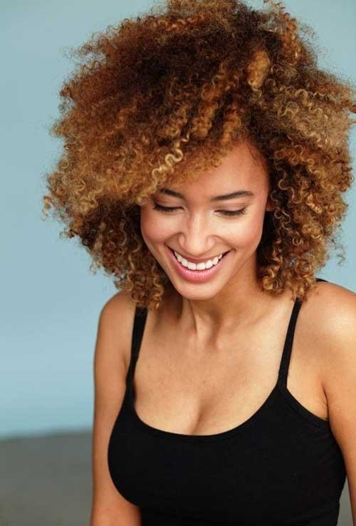 Natural-Short-Curly-Haircut-for-Black-Women Good Short Natural Curly Haircuts