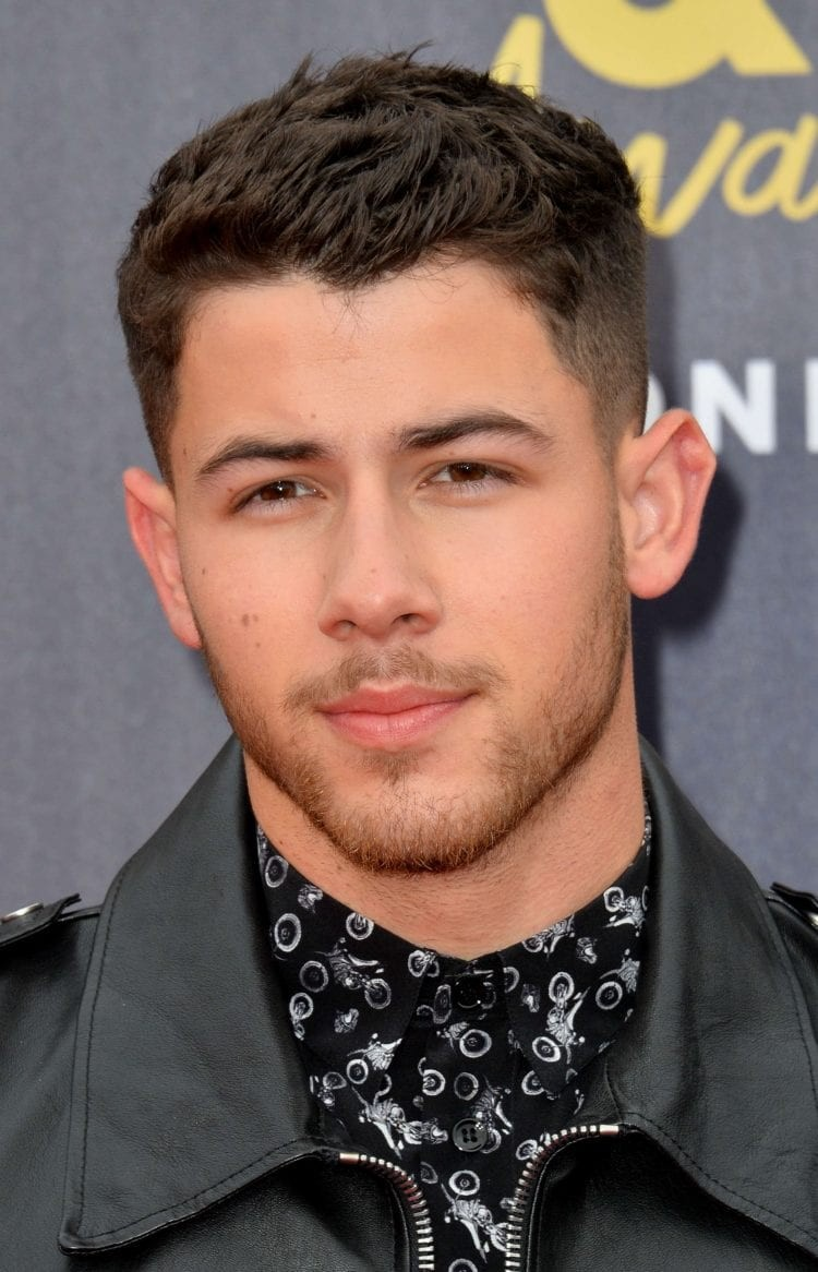 Nick-Jonass-Clean-Undercut Stylish Undercut Hairstyle Variations in 2019: A Complete Guide